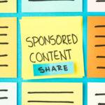 sponsored content post-it