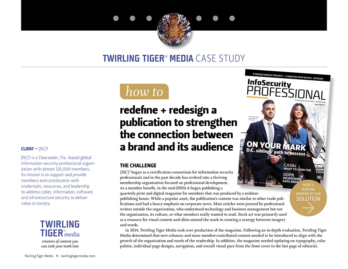 Case Study: Redefine + Redesign a Publication to Strengthen the Connection Between a Brand and Its Audience