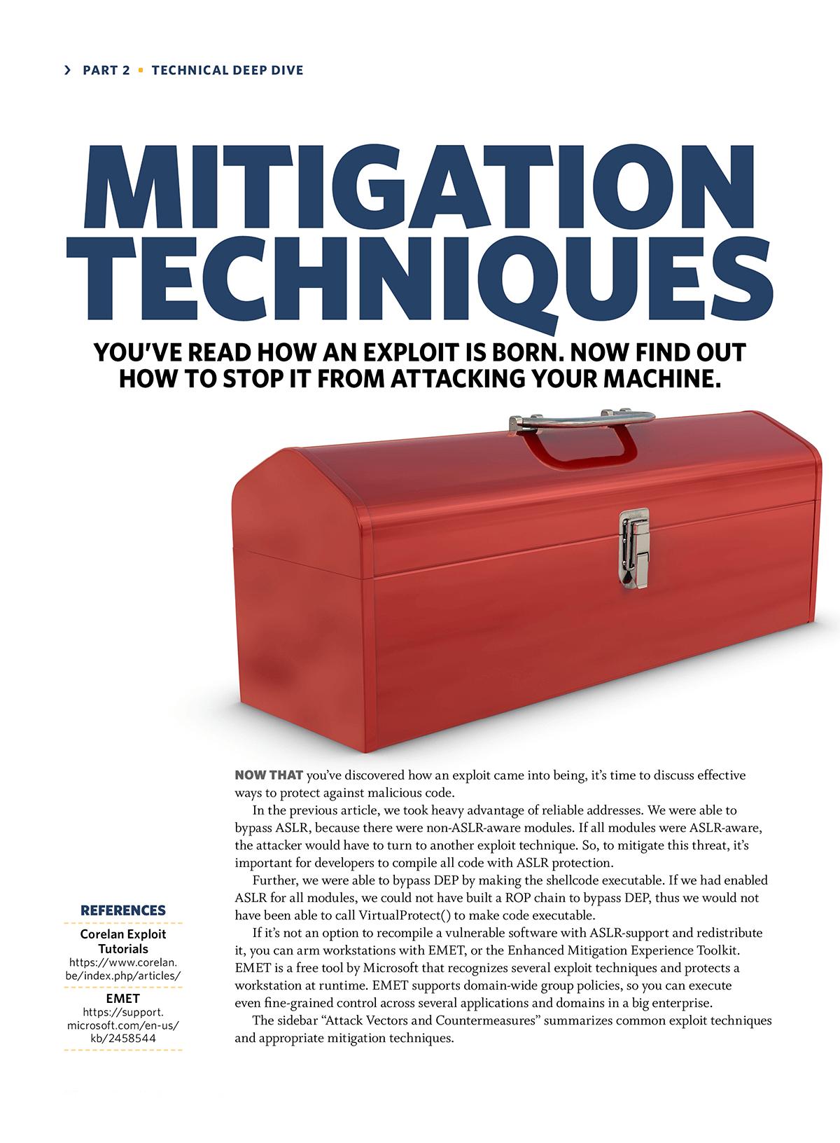 Mitgation Techniques